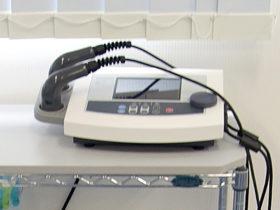 超音波治療器の写真