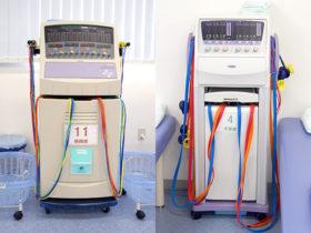 低周波治療器と干渉波治療器の写真